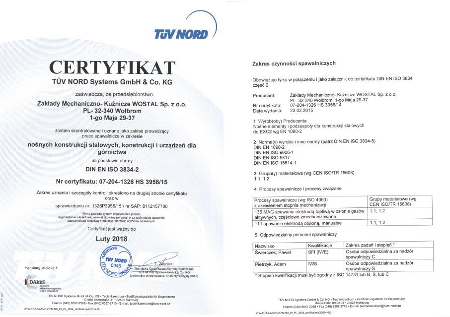 Certyfikat Polski